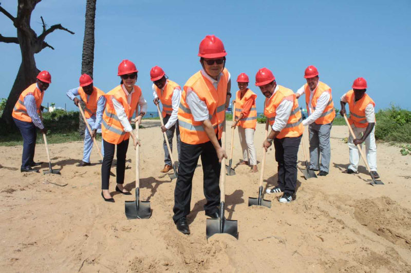 Preparatory work for the construction of the hospital gets underway